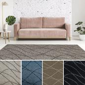 Indoor Rug - Dandy Waves - Olefin - 2' x 5' - Assorted