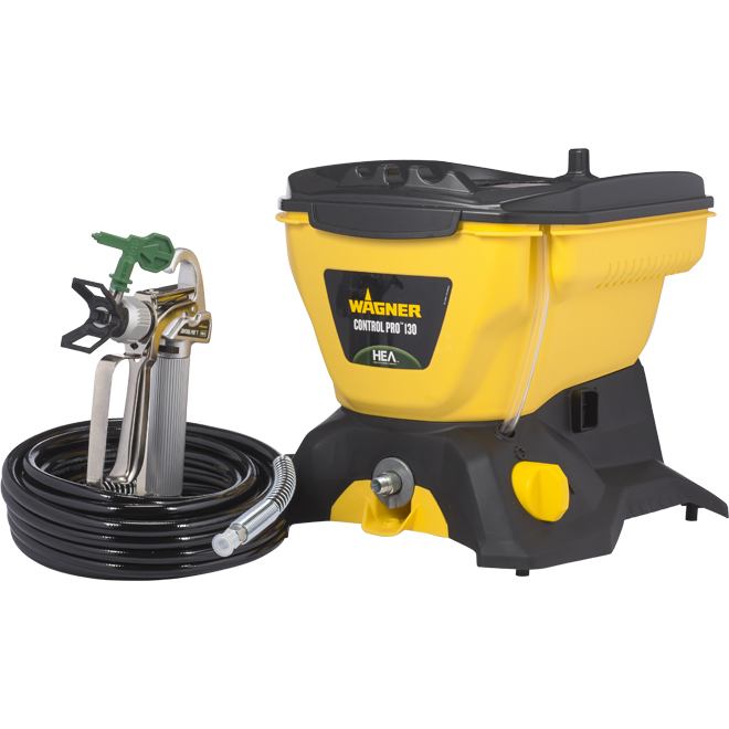 Wagner Paint Sprayer - Control Pro 130 - Yellow and Black