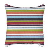 Sunbrella Pillow Carousel - Polyester Acrylic - 20-in x 20-in - Stripe
