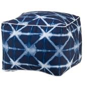Pouf palmier ALLEN + ROTH, 18'' x 14'', polyester