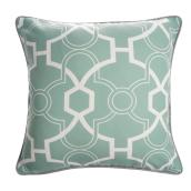 Allen + Roth Outdoor Cushion - 18-in x 18-in - Polyester - Green