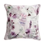 Coussin extérieur allen + roth à motif fleuri, 18 po x 18 po, polyester, rose