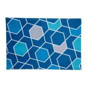 ALLEN + ROTH Reversible Placemat - Polyester - 19-in x 13-in - Multicolour