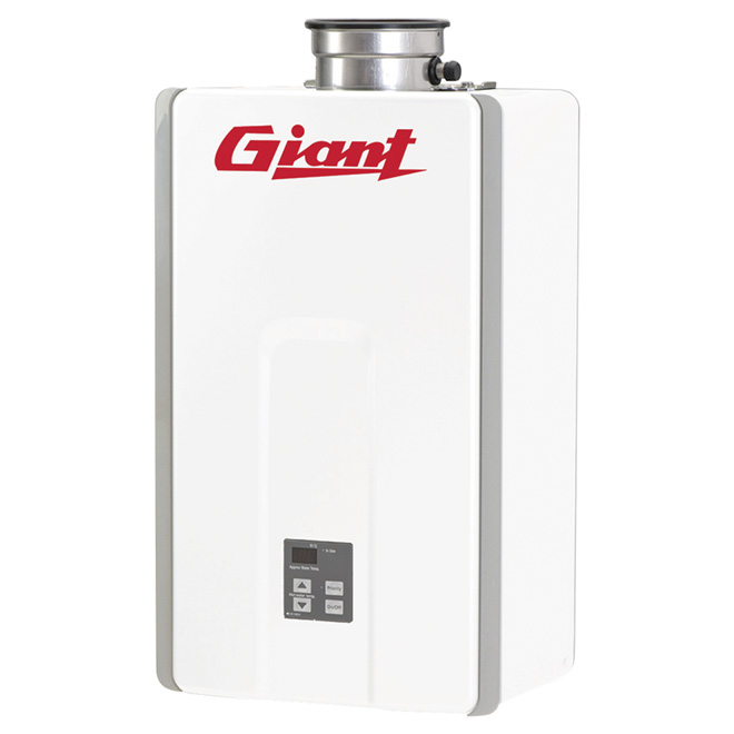Natural Gas Water Heater - Tankless