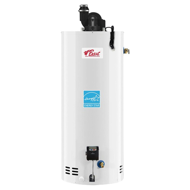 Natural Gas Water Heater - 40-Gallon - 34 000 BTU