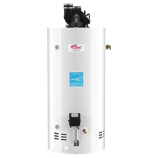 Chauffe-eau au gaz naturel de Gemco, résidentiel, Energy Star, 38 000 BTU, 33 gal