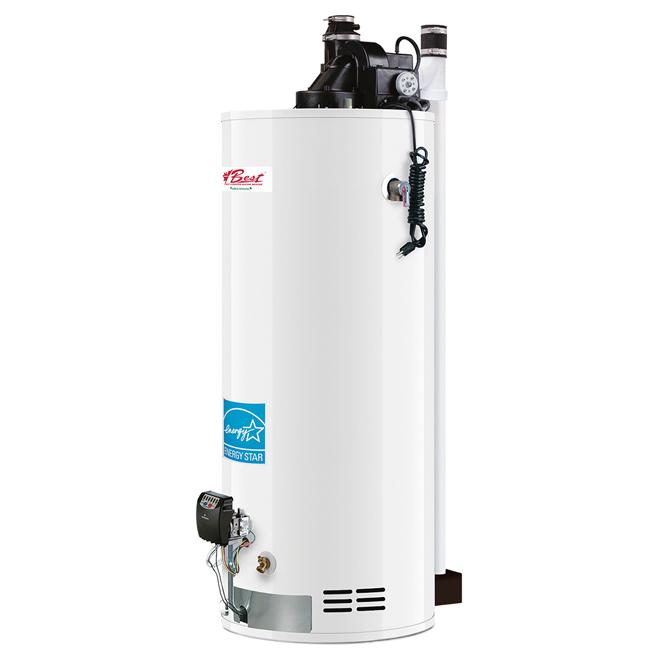 Chauffe-eau au gaz naturel, 50 gallons