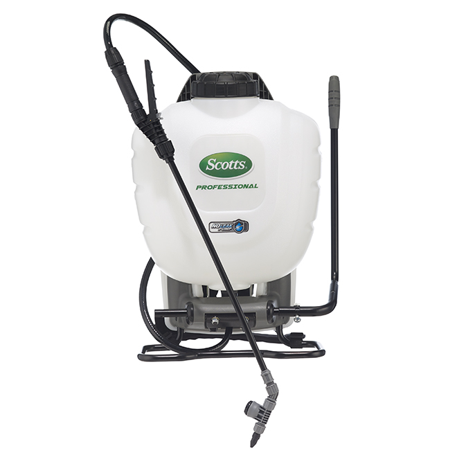 SCOTTS Professionnal Backpack Sprayer - 4 Gallons 190540C | RONA