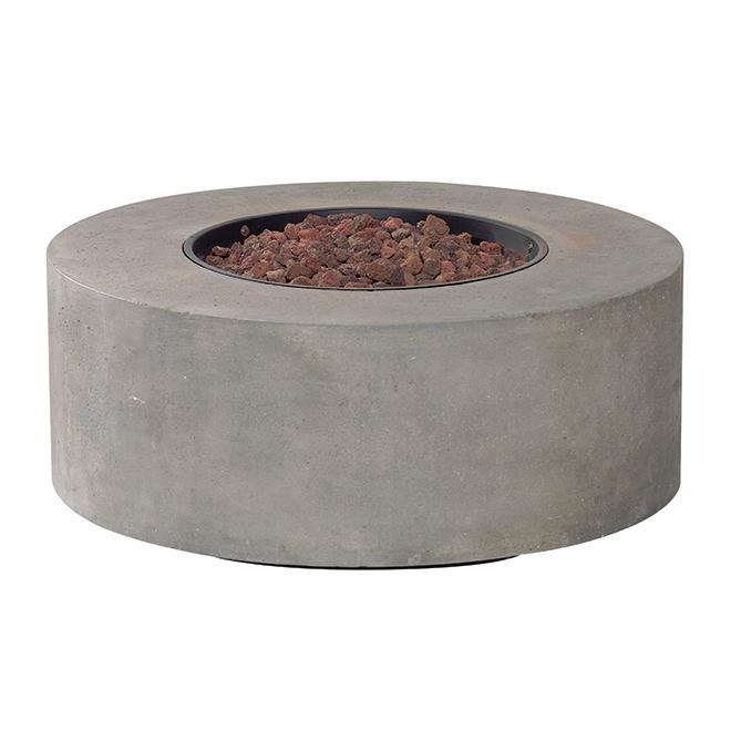 Table-foyer extérieure au propane, 50 000 BTU, oxyde de magnésium, béton