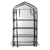 "Mini Greenhouse with 4 Shelves - 48.8"" x 26.7"""