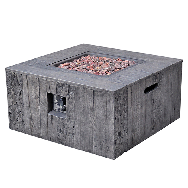 outdoor fire table. Propane Outdoor Fire Table - Luxembourg 34 5/8\ 8