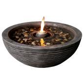Fontaine avec flamme, 24