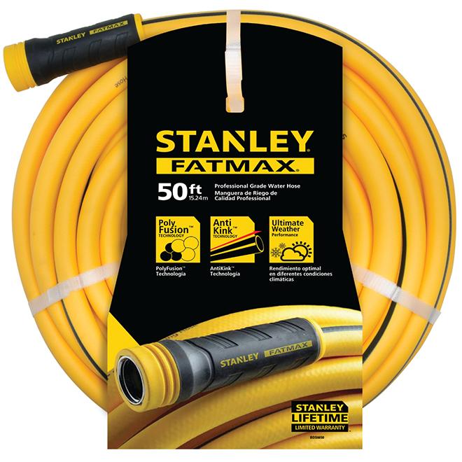 Professional Hose - PVC - 50' - Yellow