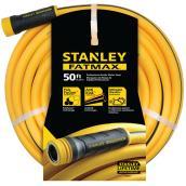 Boyau d'arrosage professionnel en PVC, 50', jaune