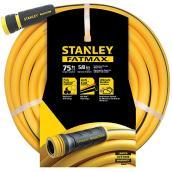 Boyau d'arrosage professionnel en PVC, 75', jaune