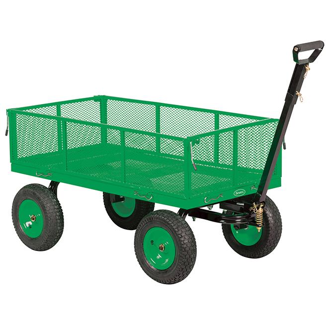 Chariot de jardin Scotts, 1200 lb/5pi³, 45'' x 23'', 10''