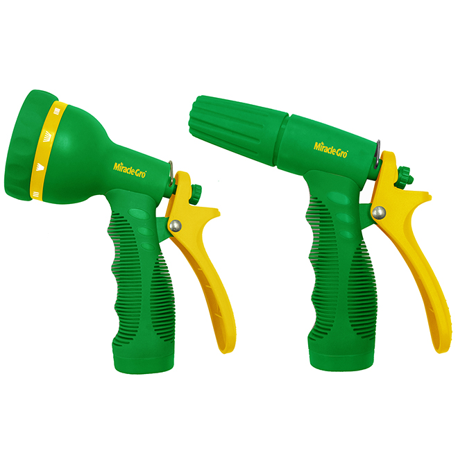 Miracle-Gro(R) Spray Nozzel - Adjustable - Abs - 2 Pces
