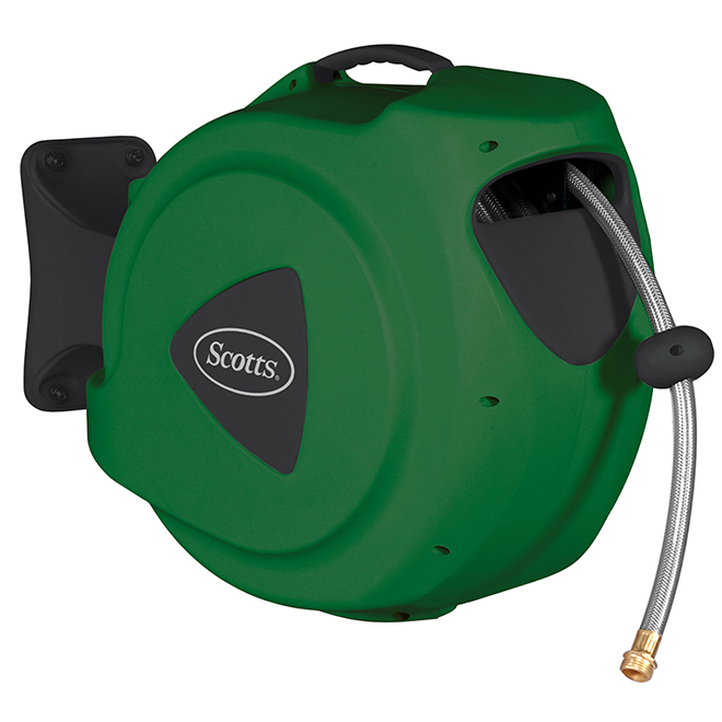 Scotts(R) Wall Mount Hose Reel - 98' x 1/2''