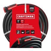"""Boyau d'arrosage Craftsman, qualité professionnelle, 50' x 5/8"""""""