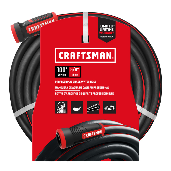 "Craftsman(R) Professional Hose - 100' x 5/8"""