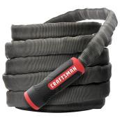 Boyau d'arrosage Craftsman(MD), 100', PVC/tissu, noir/rouge