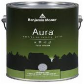 Waterborne Exterior Paint - White - Flat Finish - 3.79 L