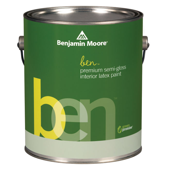 Interior Paint - Latex - Base 2 - Semi-Gloss Finish - 3.55 L