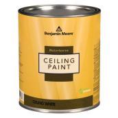 Peinture pour plafond à base d'eau, extra-mat, base, 887 ml