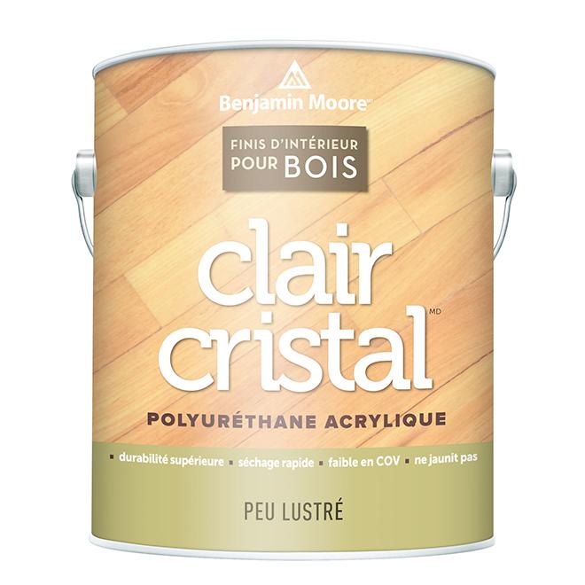 Fini d'intérieur pour bois clair, 946 ml, peu lustré