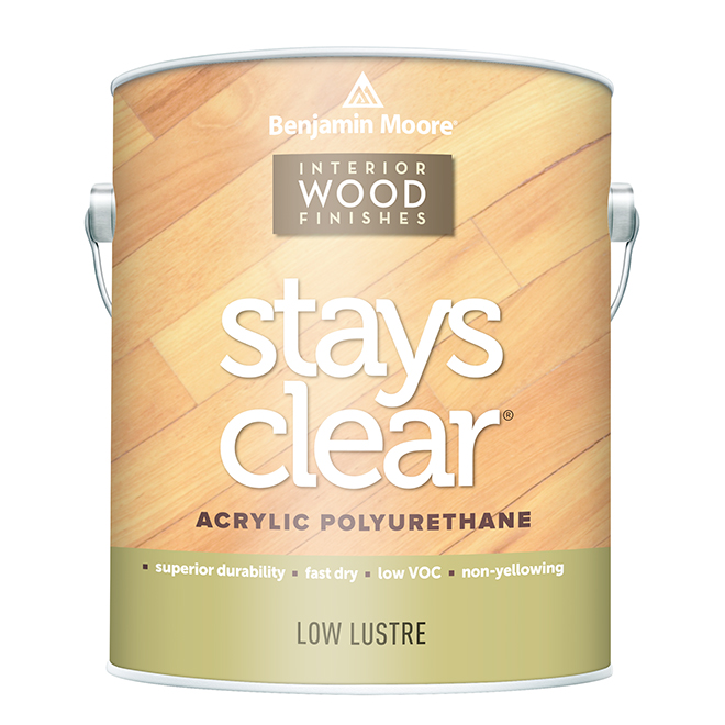 Clear Interior Wood Finish - 946 ml - Low Lustre
