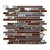 Glass mosaic wall tiles