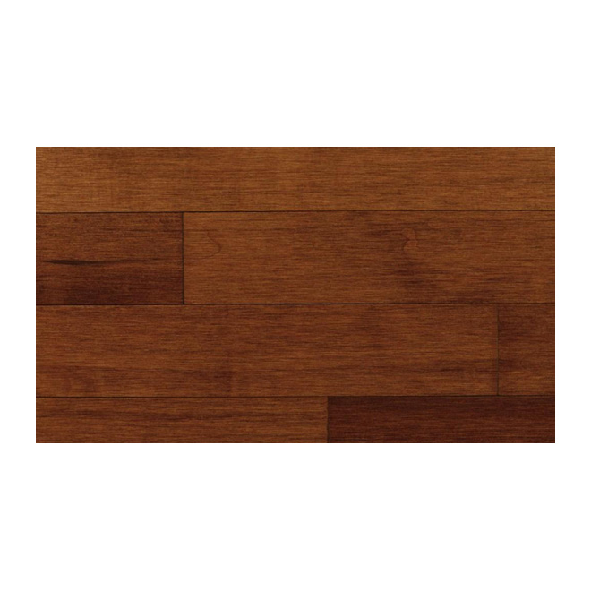 Pacific Accent Maple Hardwood Flooring 3/4 x 31/4-in - Prince Albert Chestnut