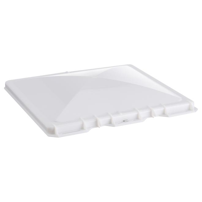 Couvercle de ventilation Camco pour VR, polypropylène, blanc