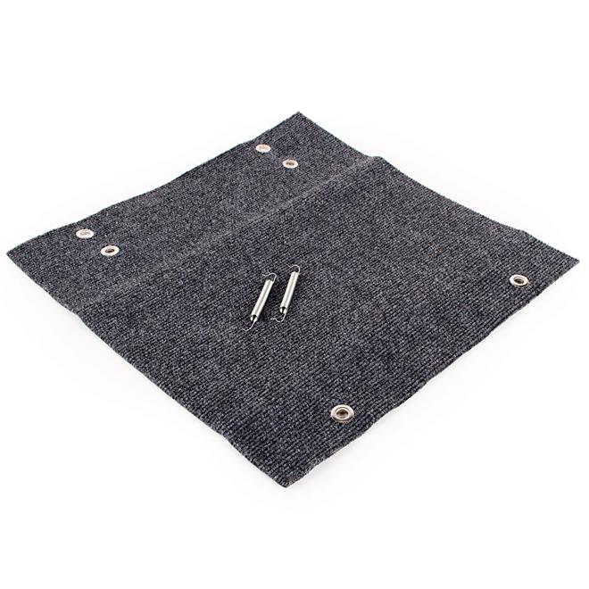 Camco Wrap Around Rug for RV Step - Polymer - Grey
