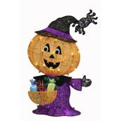 Haunted Living Lighted Pumpkin - 32-in - 50 Multicolour LED Lights
