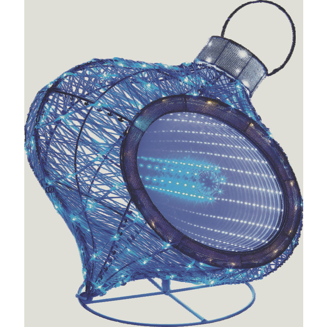 Holiday Living Lighted Ornament - LED - 20.5-in - 167 Lights - Blue