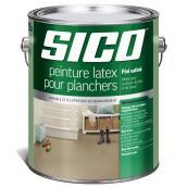 Peinture latex pour plancher, Sico, 3,6 l, gris moyen, satiné