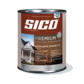 Peinture et apprêt d'extérieur Sico Premium, mat, blanc naturel, opaque, 927 ml
