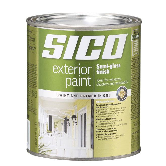 "Paint - ""Supreme"" Exterior Acrylic Latex"