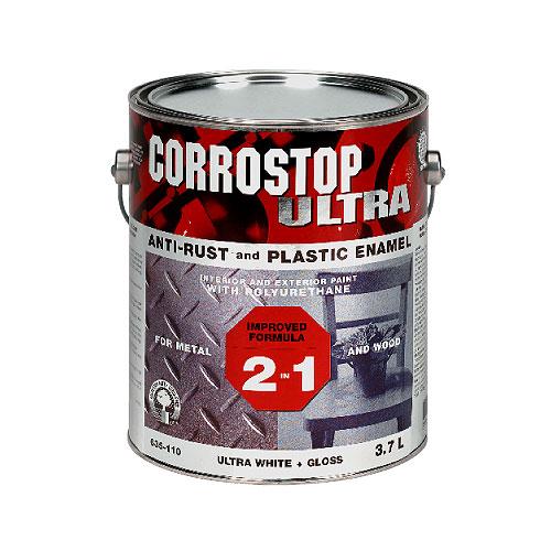 Sico - Gloss Rust Paint - 3.7 L - Super White