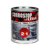 Peinture antirouille, Sico, Corrostop, 946 ml, fini lustré, aluminium