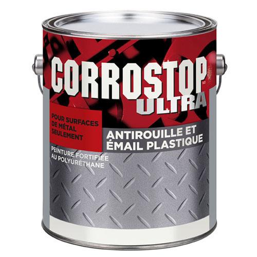 Peinture antirouille, Sico, Corrostop, 3.78 l, fini lustré, Aluminium