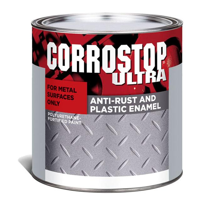 Sico - Anti-Rust Paint - Corrostop - 236 mL - Gloss Finish - Black