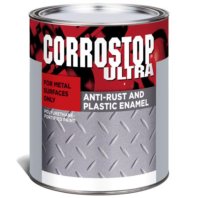 Sico - Anti-Rust Paint - Corrostop - 946 mL - Flat Finish - Black