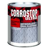 Peinture antirouille, Sico, Corrostop, 946 ml, fini brillant, vert