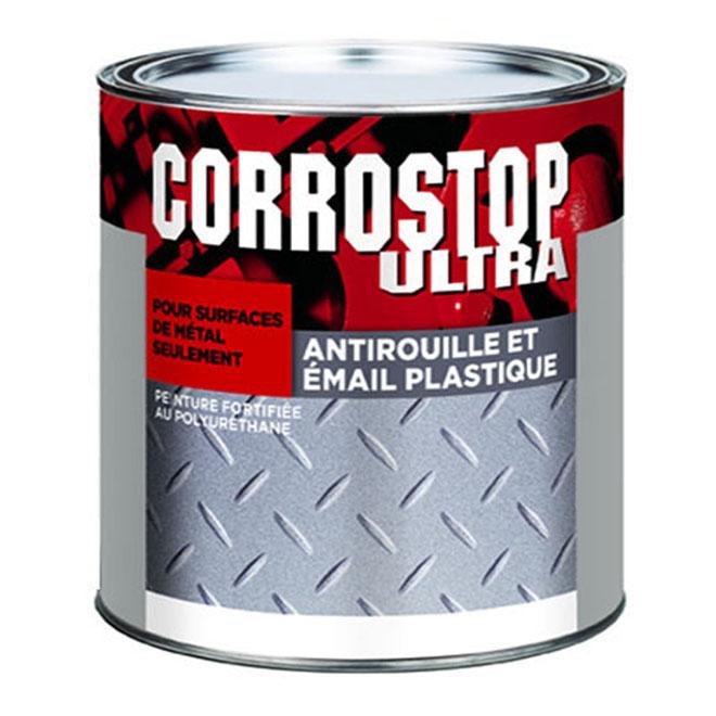 Peinture antirouille, Sico, Corrostop, 236 ml, fini mat brillant, jaune vif