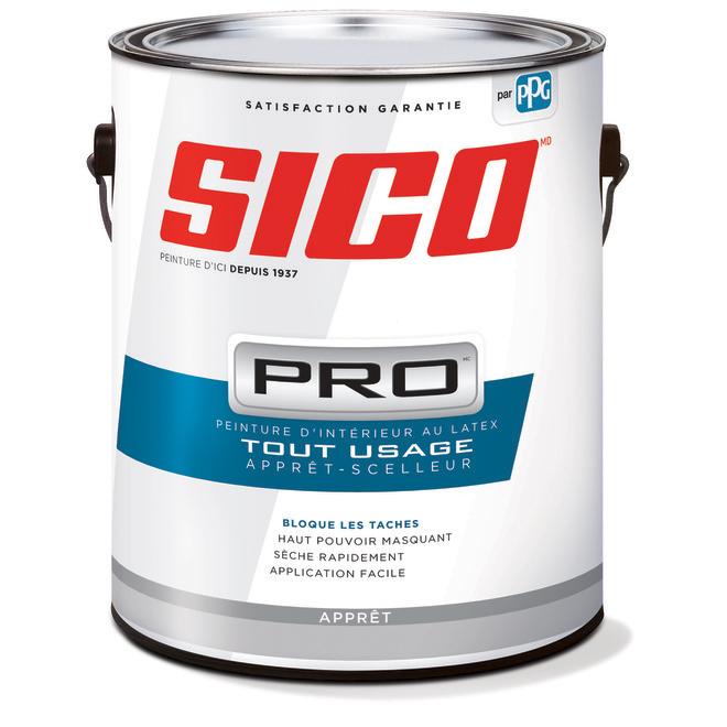 Apprêt-scelleur Sico Pro au latex pour gypse, 3,78 l, blanc