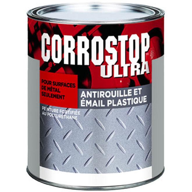 Peinture antirouille pour métal Corrostop Ultra Sico, intérieur/extérieur, 946 ml, rouge Harvester
