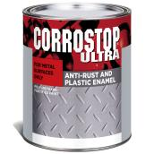 Sico Corrostop Ultra - Anti-Rust Paint for Metal - Interior/Exterior - 946 ml - Harvester Red