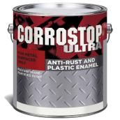 Sico Corrostop Ultra - Anti-Rust Paint for Metal - Interior/Exterior - 3.78 L - Harvester Red